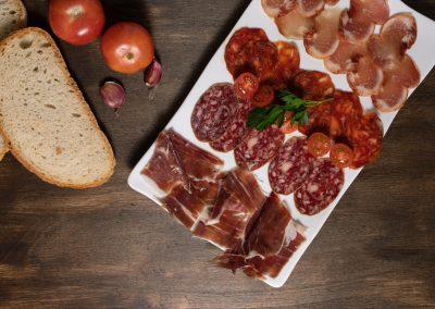 Embutido ibérico | Restaurante Centdinou 119 Platja d'Aro