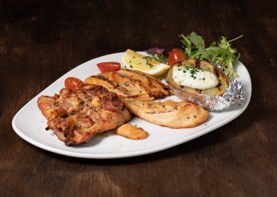 Pollo a la brasa | Restaurante Centdinou 119 Playa de Aro