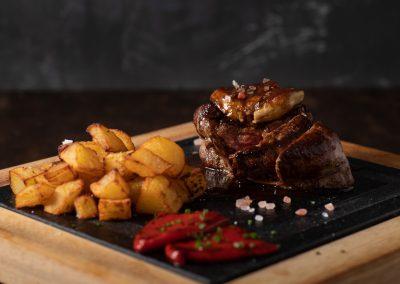 Filete de ternera con foie | Restaurante Centdinou 119 Platja d'Aro